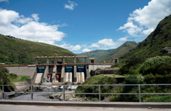 Hydro-electric dam