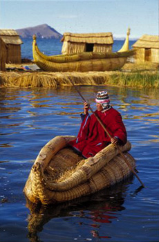 Uros people- Peru