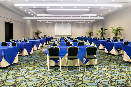 Wyndham Hotel - Conference room