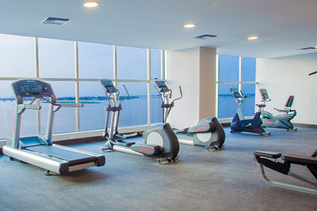 Wyndham Guayaquil - Fitness room